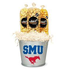 SMU Tin Popcorn Pail
