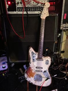 Fender Jaguar owned by Oliver Ackermann of A Place To Bury Strangers