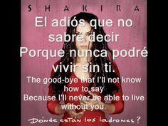 Shakira - Tú - YouTube