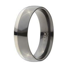Black IP, Titanium Men Rings FRT1006-9