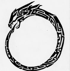 Ouroboros - Eternal rebirth and enlightenment of the connection between yourself and nature.