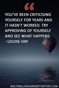 42 Self-Love Quotes That Are A Must Read. Inspirational words for self love. Self love quotes. Words of wisdom for life. louise hay you can heal your life quotes inspirational message. approving of yourself. self criticism quotes lov Motivational Quotes For Life, Inspiring Quotes About Life, Me Quotes, Inspiring Messages, Crush Quotes, Criticism Quotes, Louise Hay Quotes, Louise Hay Affirmations, Positive Affirmations