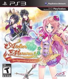 Atelier Meruru: The Apprentice Of Arland -Kind of a girly game but I love the artwork and the character development- Ps3 Games, Playstation Games, Wii, Xbox, Videogames, Atelier Series, Portable Game Console, Video Game Reviews, Latest Video Games