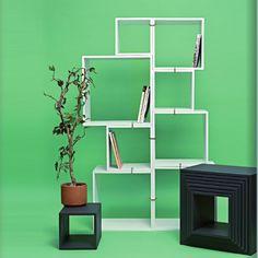 Seletti Laquered modules assemblage, set of 8 | Questo Design