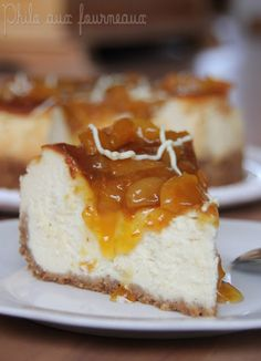 Philo aux fourneaux: Gâteau au mascarpone & au citron, garniture aux abricots & au chocolat blanc // Jeu-concours