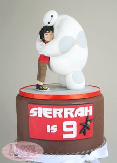Get inspired by these fun and highly creative Big Hero 6 birthday cakes. Get inspired by these fun and highly creative Big Hero 6 birthday cakes. 6th Birthday Cakes, Leo Birthday, Boy Birthday Parties, Theme Parties, Birthday Stuff, Birthday Ideas, 40th Birthday Messages, Big Hero 6 Party Ideas, Biscuit