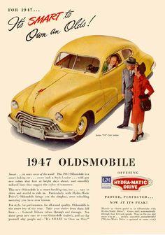 1947 Oldsmobile Series 70 Club Sedan