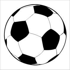 Balón de fútbol de Clip Art