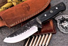 CFK USA Custom Handmade Hammered D2 Tool by CFKCutleryCompany