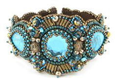 Image detail for -Treasure Bracelet by Barbara Ponticelli: beadpatterncentral