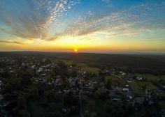 Sonnenuntergang in Rott aufgenommen mit einer #GoPro #Hero3 und dem #Phantom2 in #Rott #sonnenuntergang #sonne #sun #sunset #himmel #abendsonne #abendhimmel