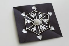 Here's one of our favorite winter crafts for kids~ creating symmetrical snowflakes! Children will be creating symmetrical snowflakes using common craft materials. This snowflake craft would be a great addition to any math lessons on symmetry or patterns! Snowflake Craft, Snowflakes, Winter Crafts For Kids, Snow And Ice, School Holidays, Craft Materials, Winter Theme, Light In The Dark, Christmas Crafts