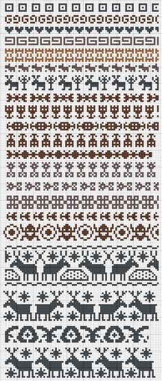 fairisle patterns excellent picture grid for icelandic intarsia patterns for christmas , moose , deer , heart shapes to work out your own knitting jumper designs from