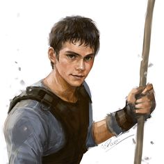 Thomas - The maze runner (not my fanart) needs the sandy brown hair but this is beyond my skill
