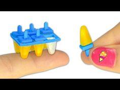 Como fazer aguarelas em miniatura para boneca - Faça você mesmo ♡ - YouTube