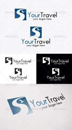 Travel - Logo Design Template Vector #logotype Download it here: http://graphicriver.net/item/travel-logo-template-/4043737?s_rank=1603?ref=nexion