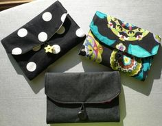 Wallet All ~ multi compartments, including zippered section