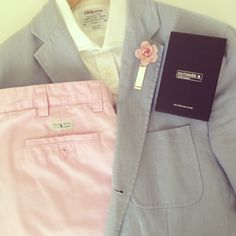 Complementing a touch of Ralph Lauren on a nice summer's day to the polo...