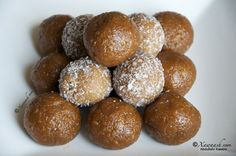Somali food - Coconut Sweets (Qumba Caano )