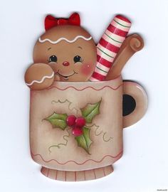 tole gingerbread   Tole Painting