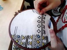 YouTube Hand Embroidery Videos, Bead Embroidery Patterns, Hardanger Embroidery, Embroidery For Beginners, Hand Embroidery Designs, Beaded Embroidery, Kutch Work Designs, Baby Dress Design, Sewing Clothes