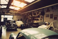 French Bugatti Workshop Has Seen Three Generations of Owners - Photography by David Marvier for Petrolicious