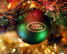Land Rover bauble