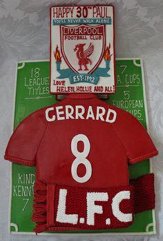 Liverpool Football Club birthday cake!!