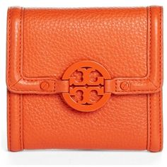 Tory Burch 'Amanda' Trifold French Wallet Night Sky NONE $165