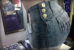 Short´s saia jeans vários tamanhos compre agora loja.likestore.com.br/ideiamodas