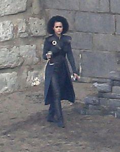 Jon Snow and Daenerys Targaryen Game of Thrones Set Pictures | POPSUGAR Entertainment