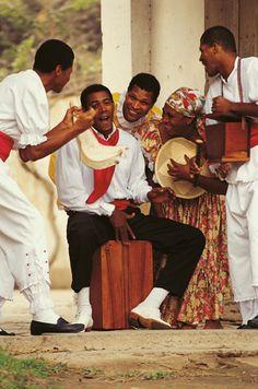 Músicos afroperuanos