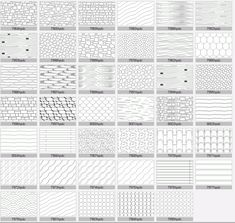 Wood and stone AutoCAD hatch patterns for all versions. Hatch Autocad, Hatch Pattern