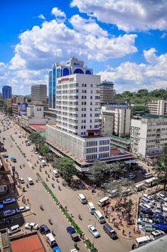 Kampala Uganda...wow, more modern than I would have imagined...