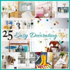25 Easy Decorating Tip