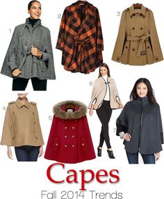 Fall 2014 Trends: Capes