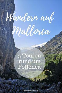 Wenn wir Urlaub auf Mallorca machen, dann immer im Norden. Diese Ecke  der Insel bietet wunderschöne Strände und tolle Gelegenheiten zum  Wandern mit Kindern. Wir zeigen euch unsere 5 liebsten Wanderungen rund  um Pollença und Alcúdia. #Mallorca #Alcudia #Pollenca #MallorcaWandern  #WandernmitKind Menorca, Movie Posters, Movies, Blog, Island, Hiking With Kids, Europe Travel Tips, Wonders Of The World, Films