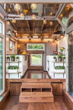 Elevated Kitchen - These Teeny Homes Are Everything - Photos