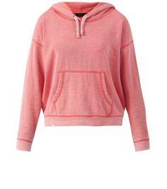Pink Pocket Front Hoodie