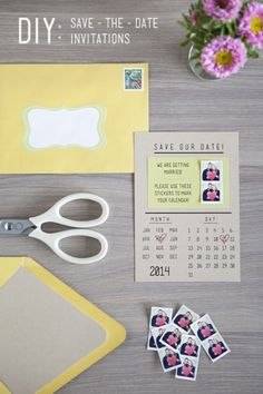 Instagram Save-the-Dates by Jen Carreiro