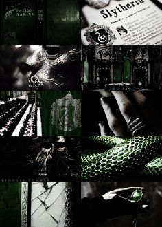 this is the story of how i died, houses of hogwarts → slytherin