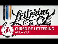 Lettering sem complicação - Aula 2/3 - Curso Grátis de Lettering - YouTube
