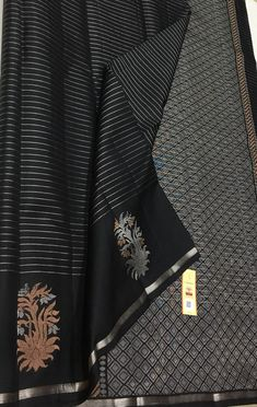 Black Thunder, Wedding Silk Saree, Pure Silk Sarees, Pure Products, Collection