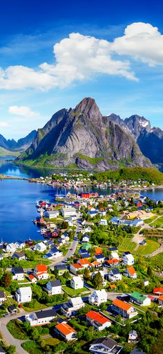 Reine, Lofoten, Norway - 15 Amazing Places to Visit all across Norway! Lofoten, Places To Travel, Places To See, Travel Destinations, Visit Norway, Norway Travel, Photos Voyages, Future Travel, Countries Of The World
