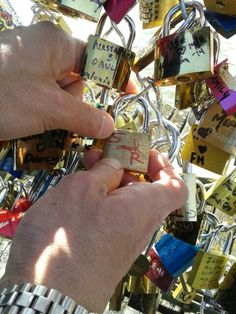 Our love lock :)