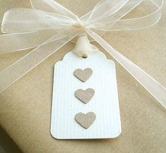 Handmade labels # hearts