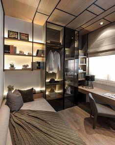 Ideas Home Bedroom Design Small Rooms Loft Interior, Modern Interior, Interior Architecture, Luxury Interior, Luxury Decor, Condo Interior Design, Modern Apartment Design, Asian Interior, Kitchen Interior