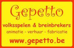 """Gepetto Volksspelen François Van Schoute   Moderne & traditionele volksspelen, bordspelen & breinbrekers, attracties. Ambachtelijke fabricatie, verhuur & animatie. """"Customisatie"""" en """"branden"""" van volkspelen met bv. een merk, een naam, een zin. Organisatie van events en team-buildings. http://www.handmadeinbelgium.com/van_schoute_francois/"""