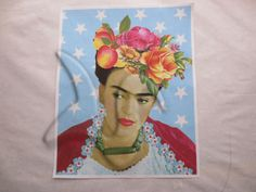 Vintage Mermaid store, unleashed the Goddess within Frida Kahlo Fabric, Vintage Mermaid, Princess Zelda, Painting, Fictional Characters, Art, Art Background, Painting Art, Kunst