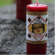 Cleo Mae Hoo Doo Candle-Even the strongest Woman needs a little help once in a while, am I right sister? Cleo Mae loves to give us some extra power to control any situation. So bring it on World!